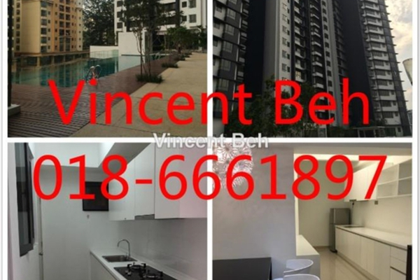 For Rent SoHo/Studio at Residence 8, Old Klang Road Freehold Fully Furnished 0R/1B 1.1k