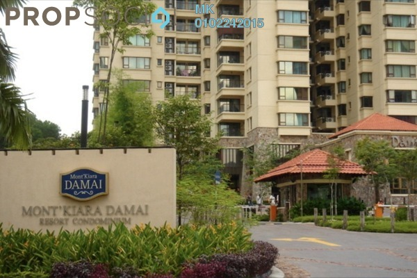 For Rent Condominium at Mont Kiara Damai, Mont Kiara Freehold Fully Furnished 4R/3B 10k