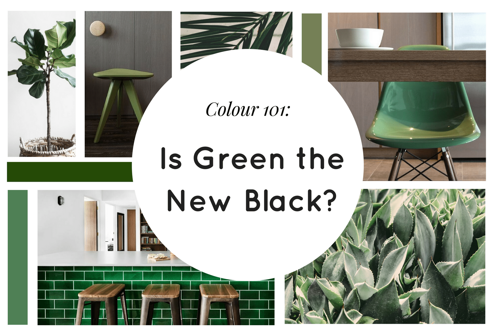 Colour 101: Is Green the New Black?
