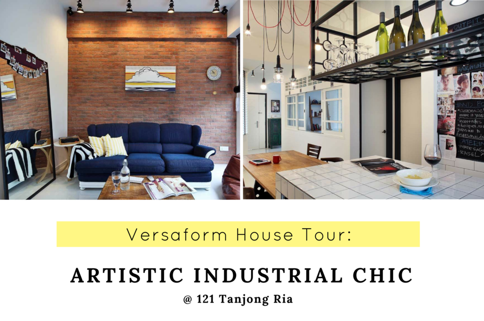 Artistic industrial chic at 121 Tanjong Ria