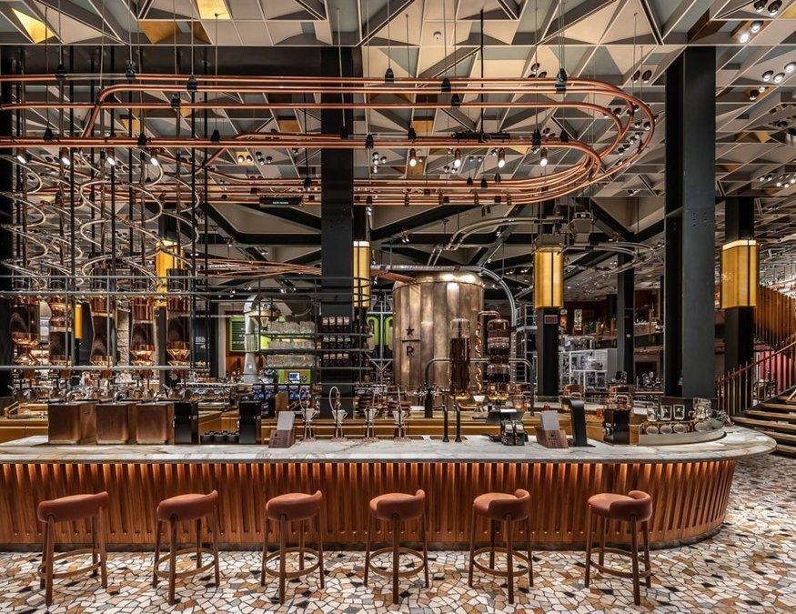 The Most Beautiful Starbucks Roastery Ever