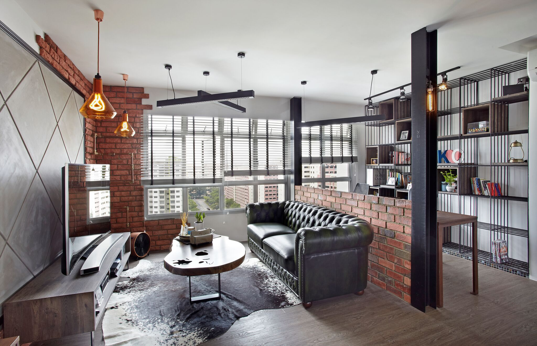 Modernising an Industrial Chic House