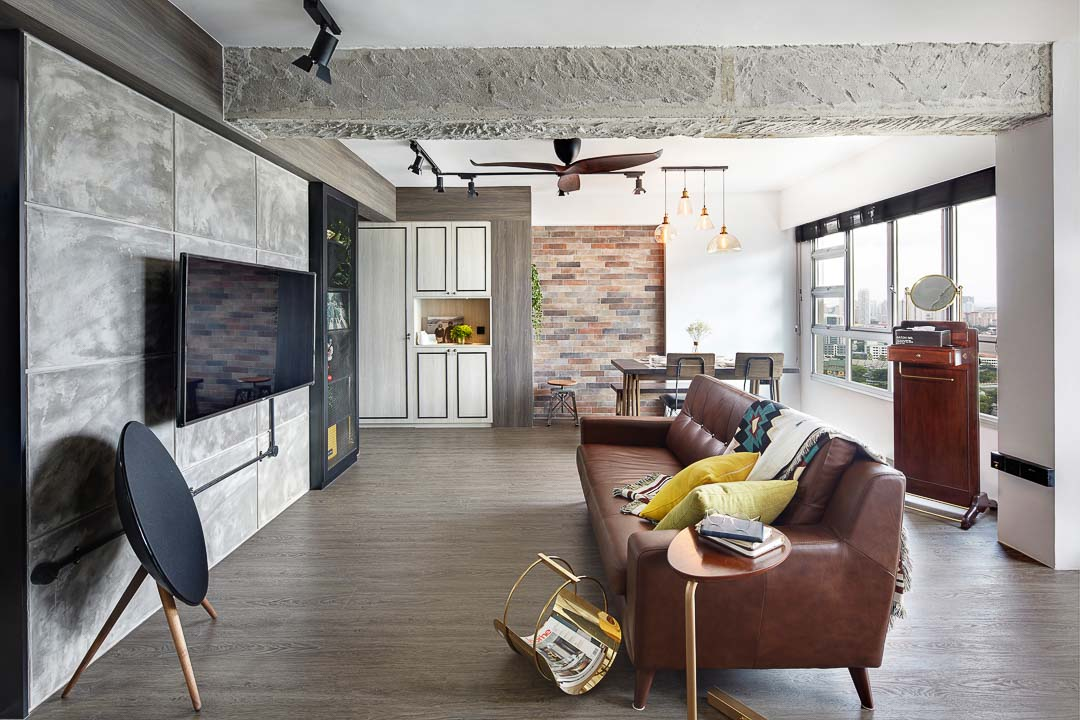 Notion of W, eclectic interior design Singapore, renovation