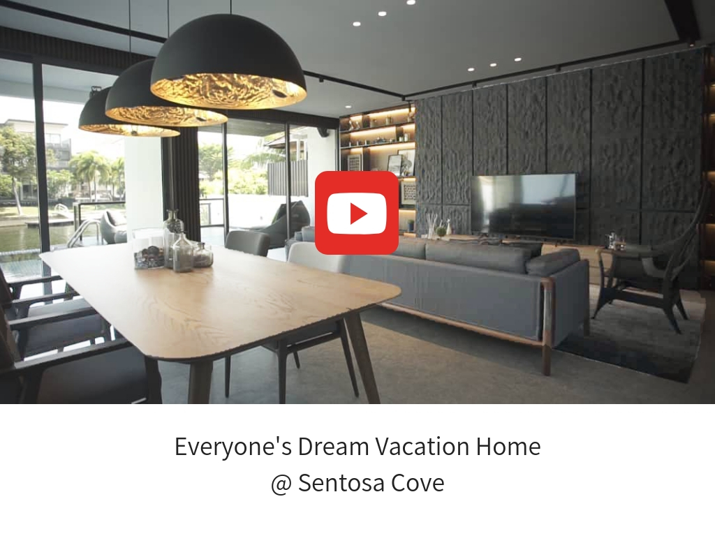 Everyone's Dream Vacation Home @ Sentosa Cove