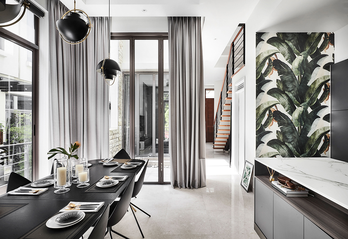 Reinvigorate your home through the use of stylish accent walls