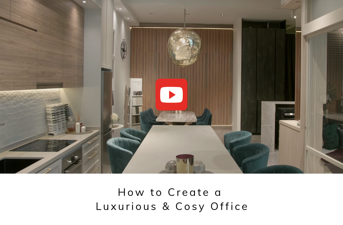 [VIDEO] How to Create a Luxurious & Cosy Office