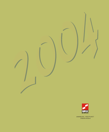 2003/2004 Report