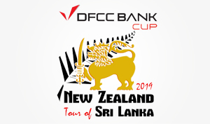 DFCC Bank Cup for 2019 New Zealand Tour of Sri Lanka unveils at Galle International Cricket Stadium