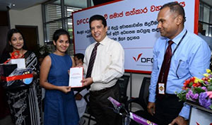 DFCC Bank come forward to assist the Children in Katuwapitiya for their educational needs