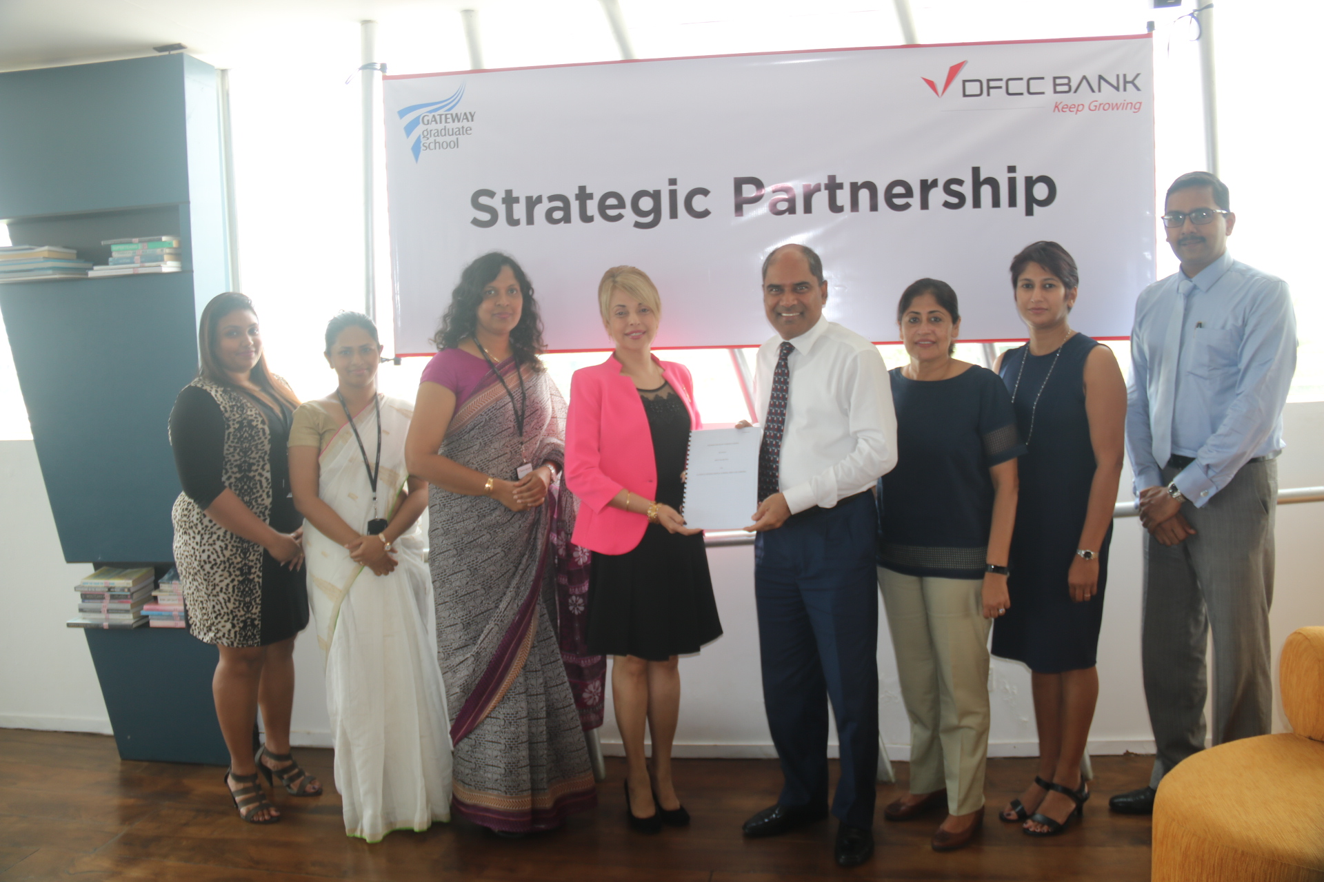 DFCC Bank join hands with Gateway Graduate School to offer an exclusive loan facility to students 1