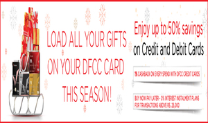 Enjoy exclusive offers with DFCC cards with up to 50% savings this festive season