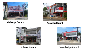 DFCC Bank opens 20 branches across Sri Lanka within 30 Days