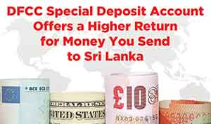 DFCC Bank offers Special Deposit Account