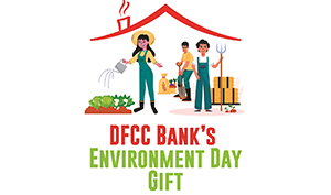 DFCC Bank promotes the Home Gardening concept on World Environment Day