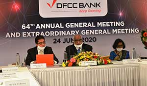 DFCC Bank hosts 64th AGM & EGM virtually aligned with the Bank's Digital Transformation