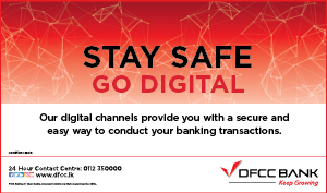 Your Options for Banking Safely at Home with DFCC Bank