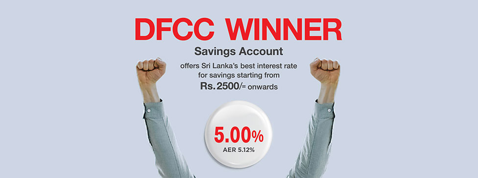 Dfcc S Winner Savings Account Paves The Way For The Best Savings Interest Rate In The Country Dfcc Bank Plc