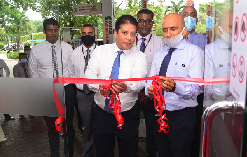 Opening of DFCC MySpace Self Banking Unit at Lanka IOC, Alexander Place, Colombo 07 1