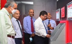 Opening of DFCC MySpace Self Banking Unit at Lanka IOC, Alexander Place, Colombo 07 2