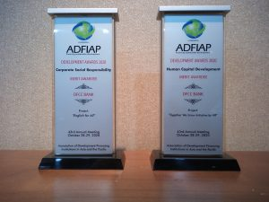 DFCC Bank shines at the Association of Development Financing Institute in Asia and the  Pacific Sustainability Development (ADFIAP) Awards 2020 2