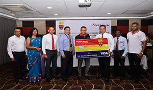 DFCC Bank launches Affinity Credit Card with Trinity College Kandy Old Boys' Association, Colombo Br