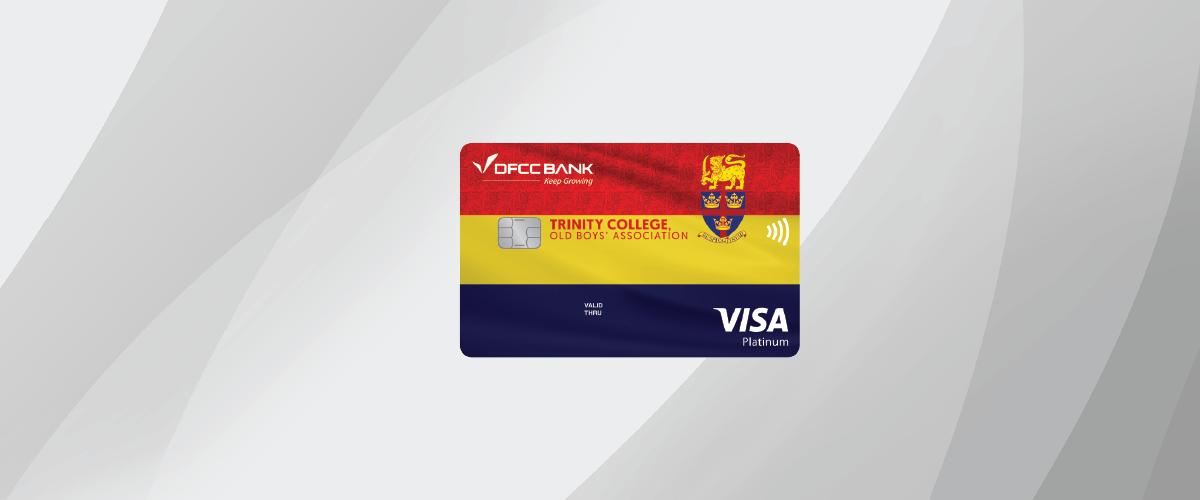 DFCC Visa Trinity College Old Boys' Association Affinity Credit Card