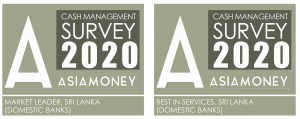 DFCC Bank bags 2 esteemed Asiamoney Awards for excellence in Cash  Management Services 1