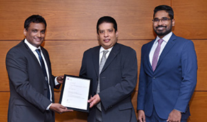 DFCC Bank continues a proactive partnership with CIMA & wins Top Employer Award