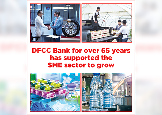 DFCC Bank remains committed to support Sri Lanka's SMEs through groundbreaking product and service offerings 1
