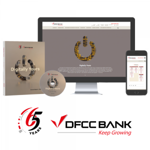 DFCC Bank takes a Digital-First approach with the launch of the Annual Report 2020 1