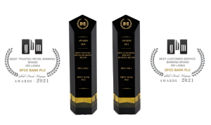 Global Brands UK recognises DFCC Bank PLC as the Most Trusted Retail Banking & Best Customer Service