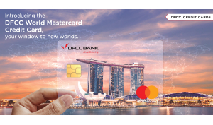 DFCC Bank launches World Mastercard Credit Card with exciting benefits