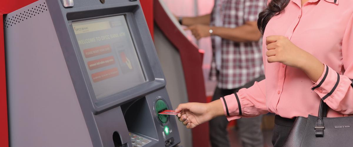 ATM – ස්වයංක්රීය ටේලර් යන්ත්ර