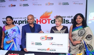 "DFCC Bank join hands with Prime Group as the Banking Partner for the Revolutionary ""Prime Hot Deals"""