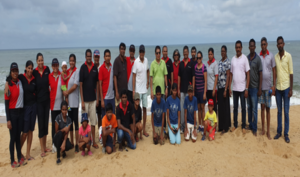 "DFCC Bank employees celebrate ""The World Clean up Day"" with a Beach cleanup campaign"