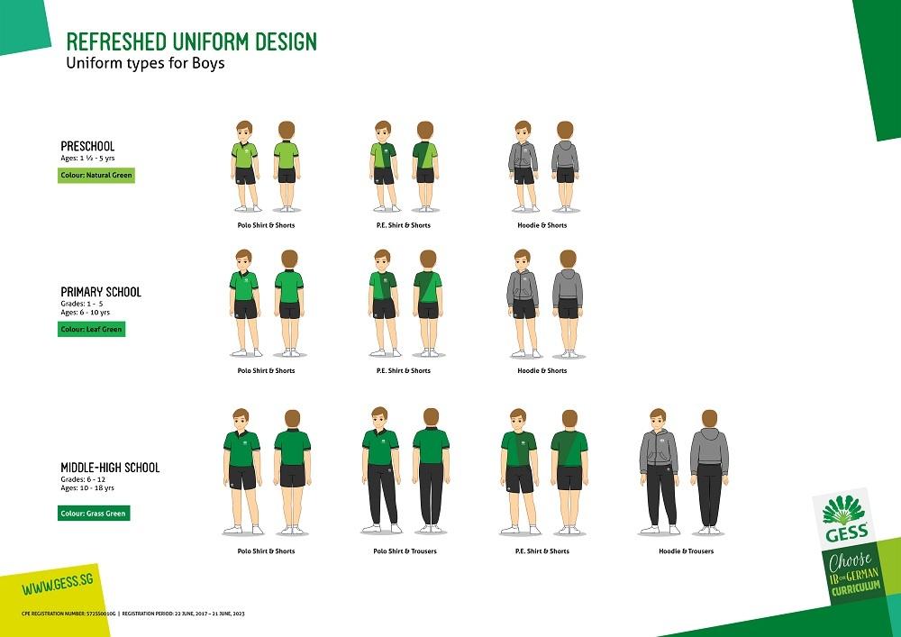 Uniform Jungen