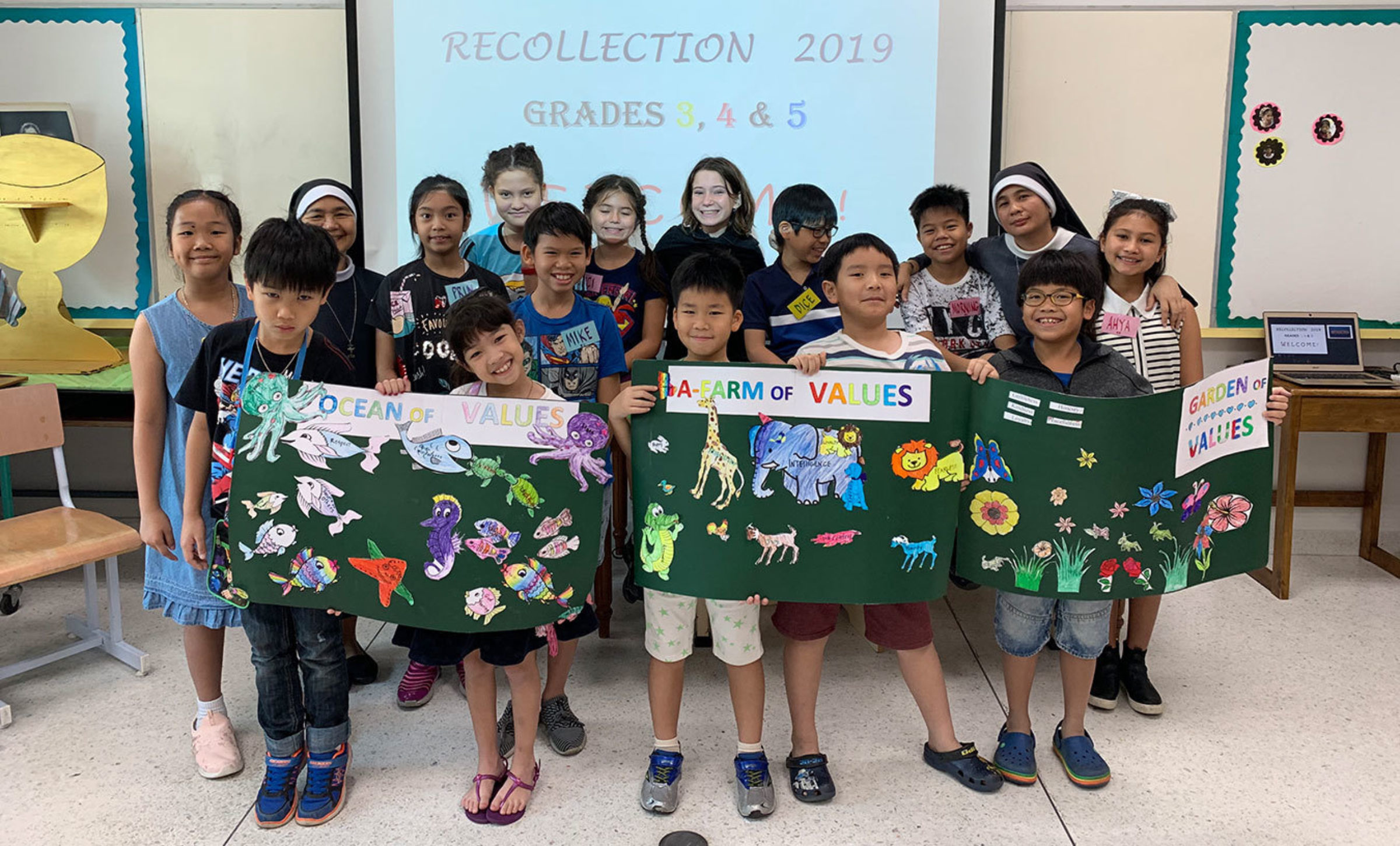 ES Religion: Recollection Day