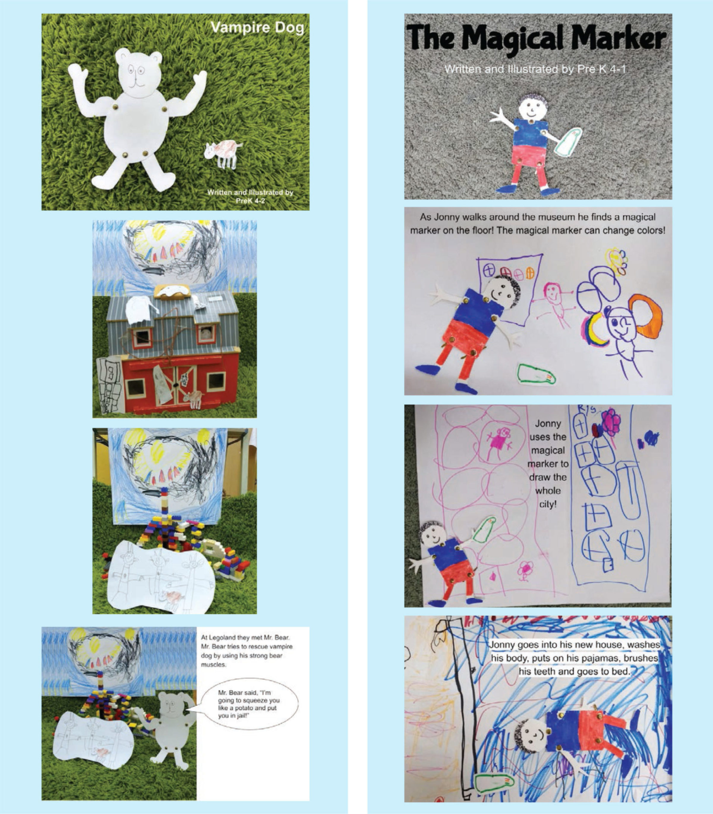 PreK 4 Integrated ELA/Visual Arts Project