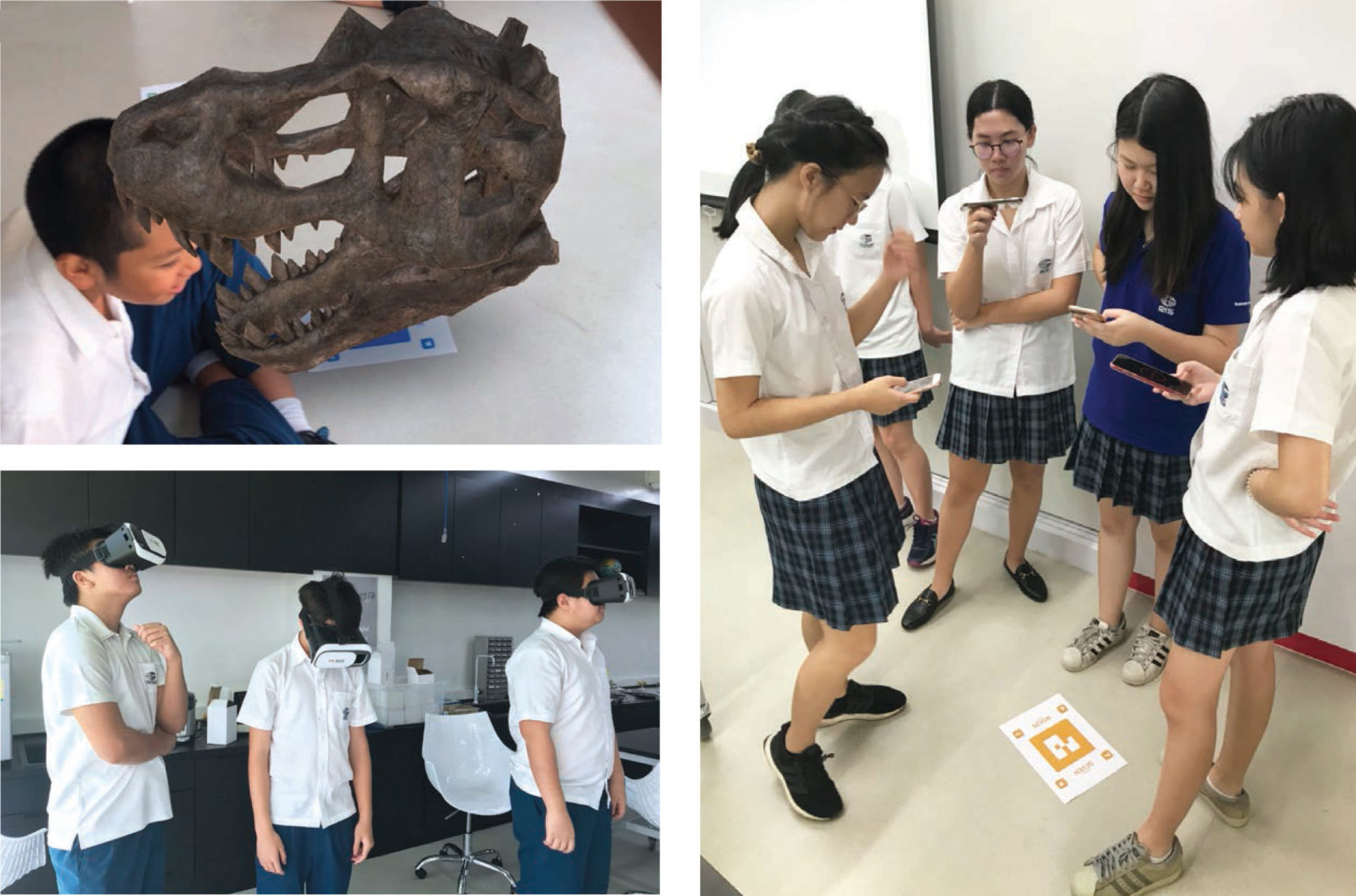 Virtual and Augmented Reality in Science Class