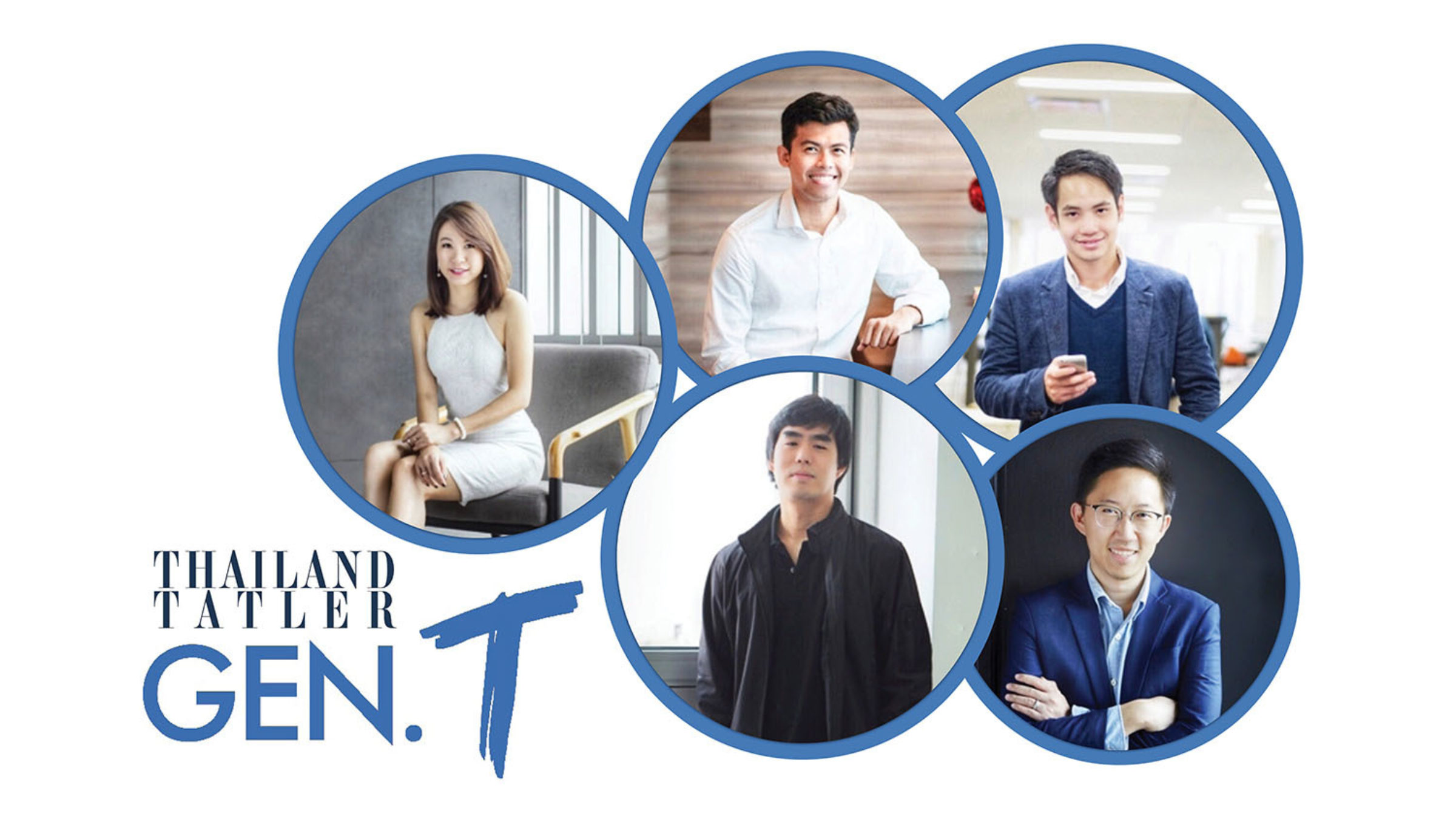 Alumni Five on Thailand Tatler's Generation T List 2018