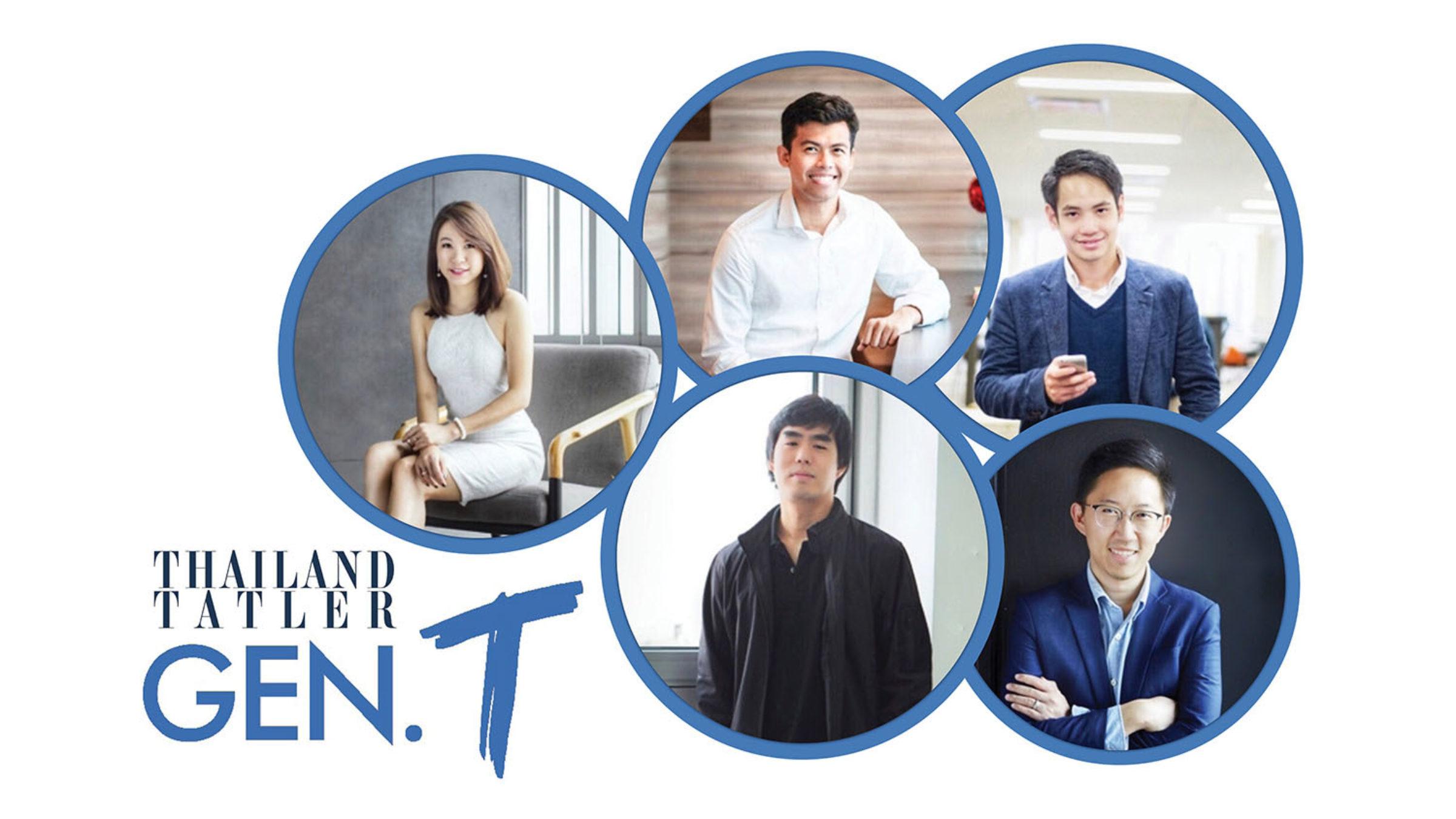 Alumni Five on Thailand Tatler's Generation T List 2018