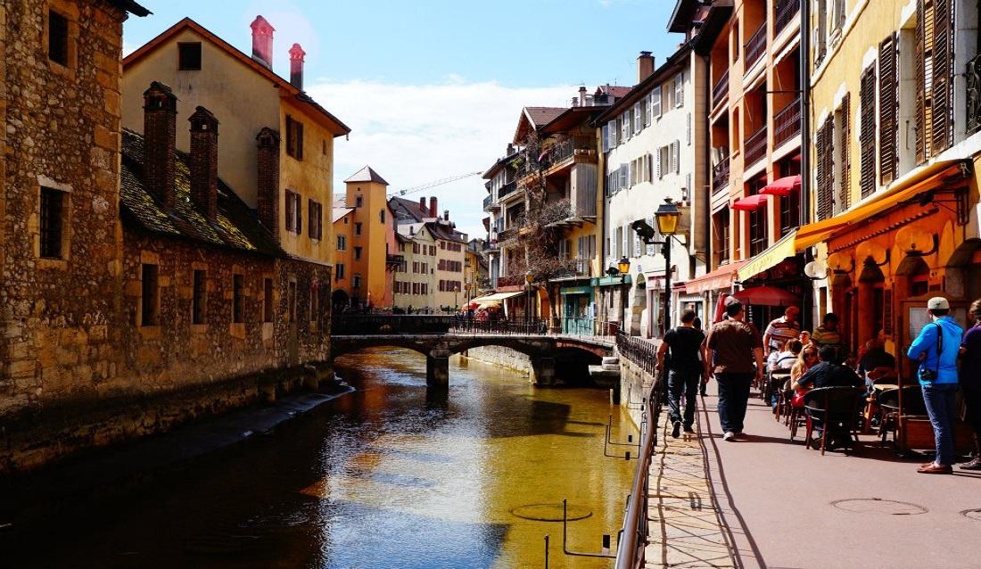阿爾卑斯山麓下的絕美小鎮 ─ 法國安錫 (Annecy)