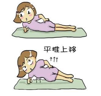 側平板式舒緩下背痛