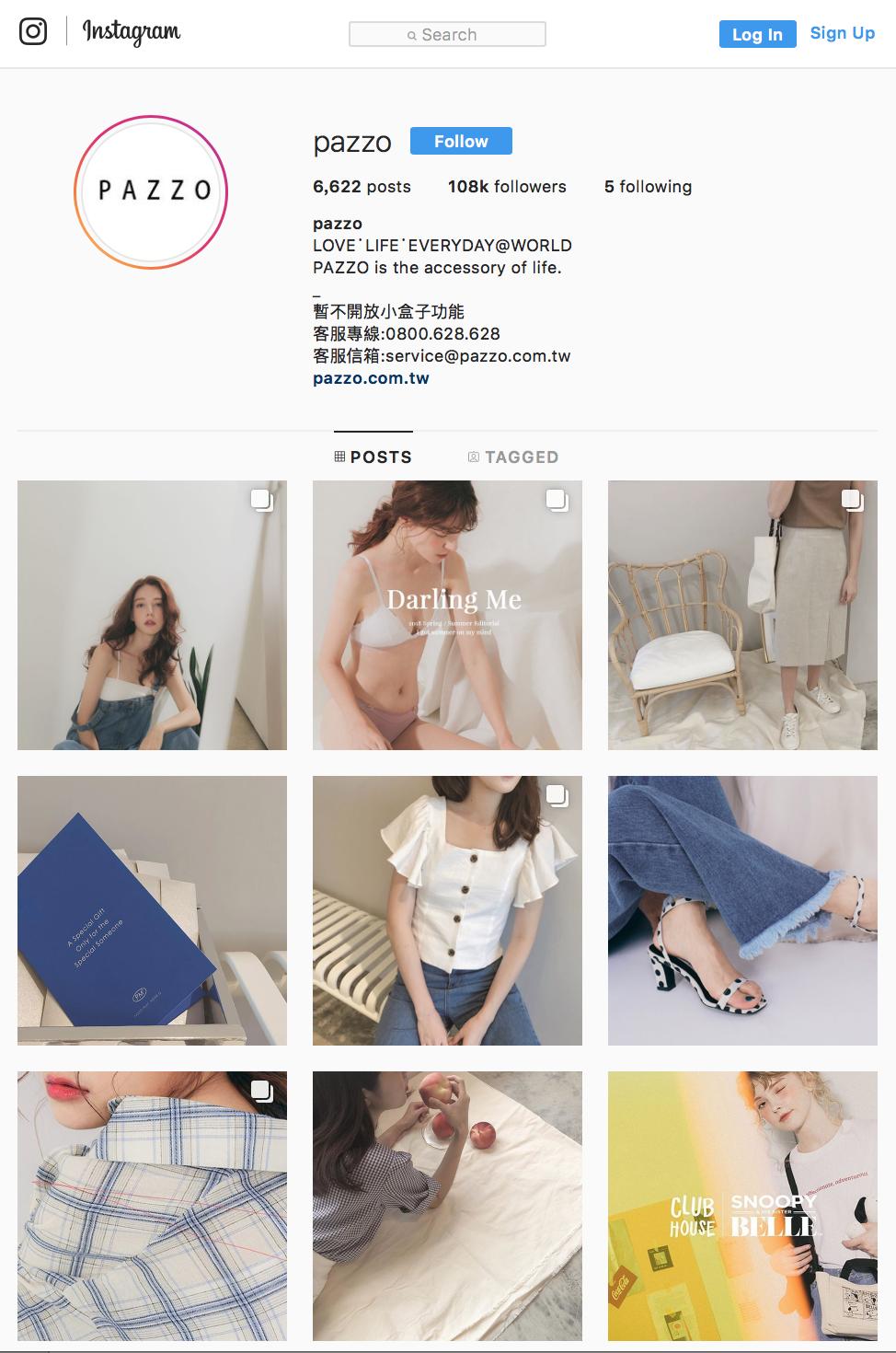 Pazzo instagram 行銷案例