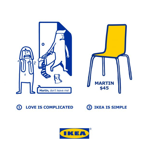 IKEA 情人節行銷