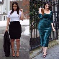 35 Model Baju Wanita Gemuk Agar Terlihat Langsing Kamu Wajib Coba
