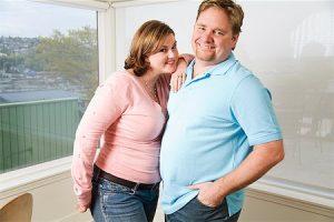 daya tarik pria gemuk