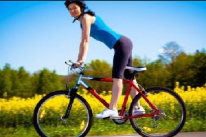 bahaya bersepeda bagi wanita