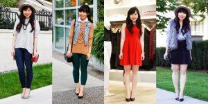 cara berpakaian modis untuk wanita pendek