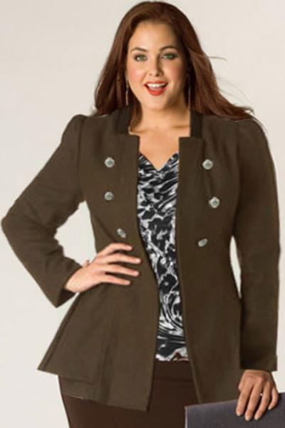 10 Model Blazer Wanita Gemuk agar Anda Tampil Lebih Pede
